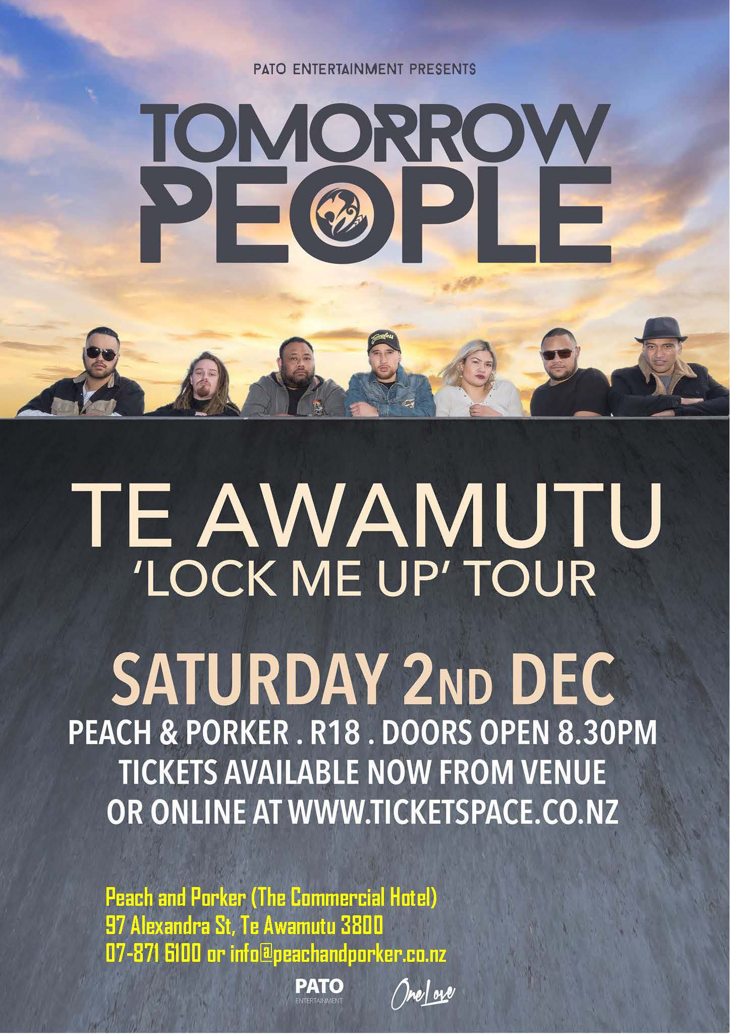 tommorow people poster